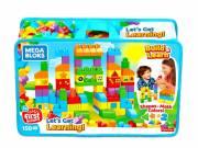 Mega Bloks: 150 darabos tanuló építőkockák