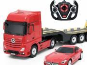 Mercedes-Benz Actros távirányítós autószállító kamion
