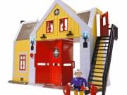 Sam a tűzoltó - tűzoltó állomás figurával