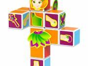Geomag Magicube - hercegnő 11 darabos mágneses kockaépítő szett