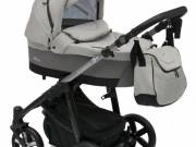 Baby Design Husky 3 in 1- multifunkciós babakocsi - + Winter Pack - 07 Gray 2018