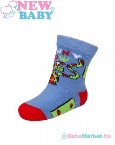 e3f4b53370 Baba pamut zokni - New Baby kék - zöld funny cow 80 (9-12 hó) - NEW ...