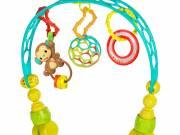 Eltávolítható játékhíd babakocsira - Bright Starts Oball Flex'n Go™ 0hó+