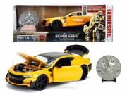 Transformers: 2016 Chevy Camaro Bumblebee fém kisautó 1:24 - Jada Toys