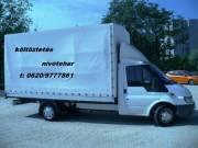 Költöztetés,lomtalanítás,darabárú szállítás,bútor szállítás.