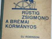 Marryat Rüstig Zsigmond a brémai ko  rmányos Új Robinson / antik könyv