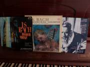 3db klasszikus bakelit lemez LP Bach Verdi