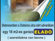 Garázs Eladó Debrecenben