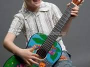 MSA 1/4 szafaris gitár, tartozékokkal, 3-5 éves méret