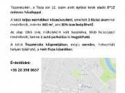 Építési telek eladó - Tiszakécske