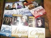 Világhíres zeneszerzők sorozat eladó