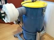 Új fogtechnikai cad cam/homokszóró elszívó félár alatt eladó