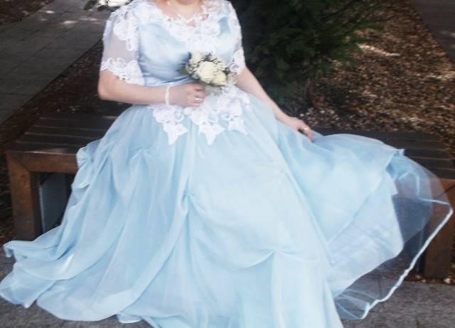 Világoskék esküvői ruha - Szekszárd - Ruházat 511a80f258