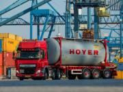 Veszélyes áru szállító sofőr az Egyesült Királyságban