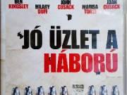 JÓ ÜZLET A HÁBORÚ  John Cusack, Marisa Tomei, Ben Kingsley, DVD