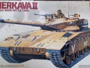 Academy 1/35 Scale IDF Merkava Mk. II Israeli Main Battle Tank Kit #1351