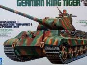 Tamiya 35169 Sd.Kfz 182 King Tiger Porsche Turret