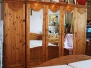 Borovi fenyő hálószoba bútor