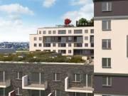 Új építésű,erkélyes lakás,bevezető áron a IX.City Home lakóparkban - Budapest IX. kerület, Középső F