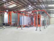 Electron automata porfestő, szinterező üzem eladó  (Porfestő berendezés,Szinterező gép)