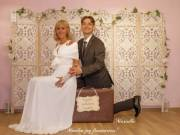 Retro bőröndök esküvőre bérelhetők