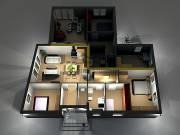 Eladó 86.54 m2 új építésű ikerház, Pannonhalma
