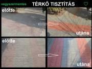 Térkő Tisztítás Mosás Szeged Sándorfalva, Szatymaz, Zsombó, Bordány, Dóc, Kistelek Ópusztaszer