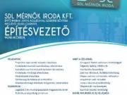 Építésvezetőt keresünk lelkes csapatunkba Győr és környékén!