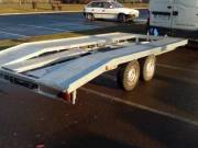 Bérelhető autószállító trailer bérlés kölcsönzés tréler