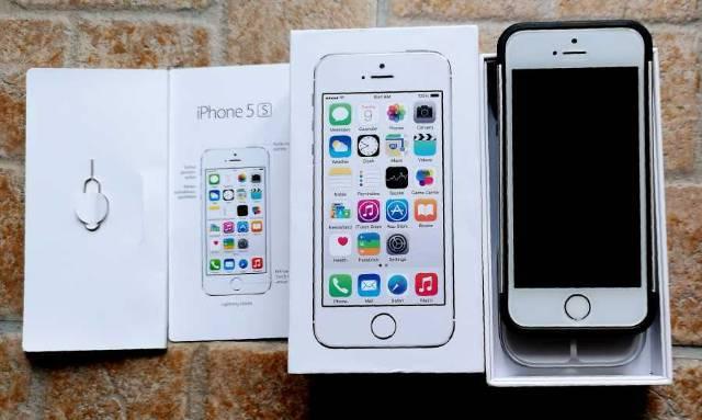 353b8f903f iPhone 5s, 16 GB, Silver, Kártyafüggetlen, újszerü - Budapest II ...