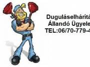 DUGULÁSELHÁRÍTÁS ÉJJEL-NAPPAL!!! TEL: 06/70-779-45-84