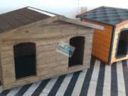 Fűthető 140X100 hőszigetelt dupla kutyaház