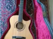 Eladó Maestro Victoria-MR akusztikus gitár, Ibanez Frank Gambale elektromos gitár