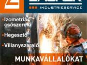 Hosszútávú hegesztő és csőszerelő munka Ausztriában