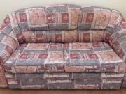 Ingyen elvihető kinyitható kanapé; fotel, szőnyeg
