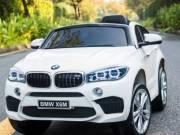 BMW X6 M elektromos kisautó! Ajándék rendszámtábla vagy jogosítvány!