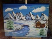 Akril festmény eladó