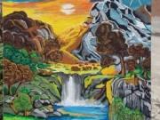 Akrillal festett festmény eladó