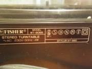 Fisher MT-9055 Lemezjátszó eladó 12000 ft.