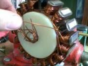Motorkerékpár generátorok tekercselése