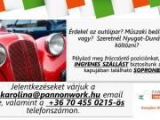 Munkalehetőség Sopronban ingyenes szállással