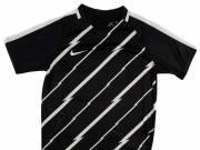 Nike Y Nk Dry Top Ss Sqd Gx1 gyerek Focimez #fekete-fehér