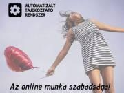 Távmunka, online munka