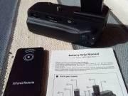 Battery Grip Canon EOS 750/760D + 2 db akkumlátor + távirányító