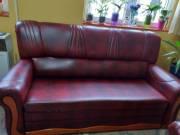 Műbőr ágyazható kanapé