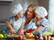 Szakács sapka gyerekeknek szetben köténnyel
