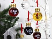 Karácsonyfadísz feles szett