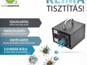 Ózonos autóklíma tisztítás és autó fertőtlenítés Győrben és Győrújbaráton!