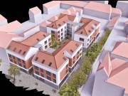 Pécs-belvárosi jogerős társasházi projekt, 1832 m2 telken eladó, Belváros