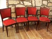 4db antik kárpitozott szék felújítandó egyben